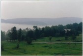 SUMMER MORNING FOG, Taken atop MX Track