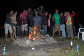 SANTOS FAMILY and FIRE PIT